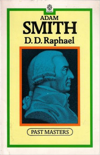 Adam Smith by D. D. Raphael (Past Masters) (O.U.P.) (image)