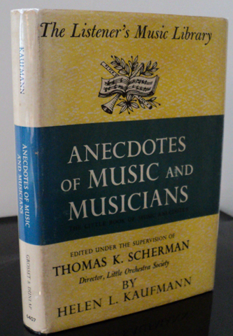 Anecdotes of Music and Musicians (The Listener's Music Library) (image)