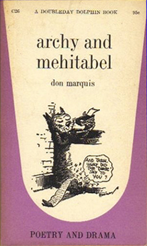 Archy and Mehitable - Don Maquis (Dolphin Books/Doubleday) (image)