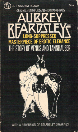 The Story of Venus and Tannhauser - Aubrey Beardsley (Tandem Books) (Front cover) (image)