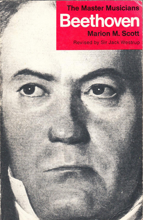 Beethoven by Scott/Westrup (Master Musicians; dent) (image)