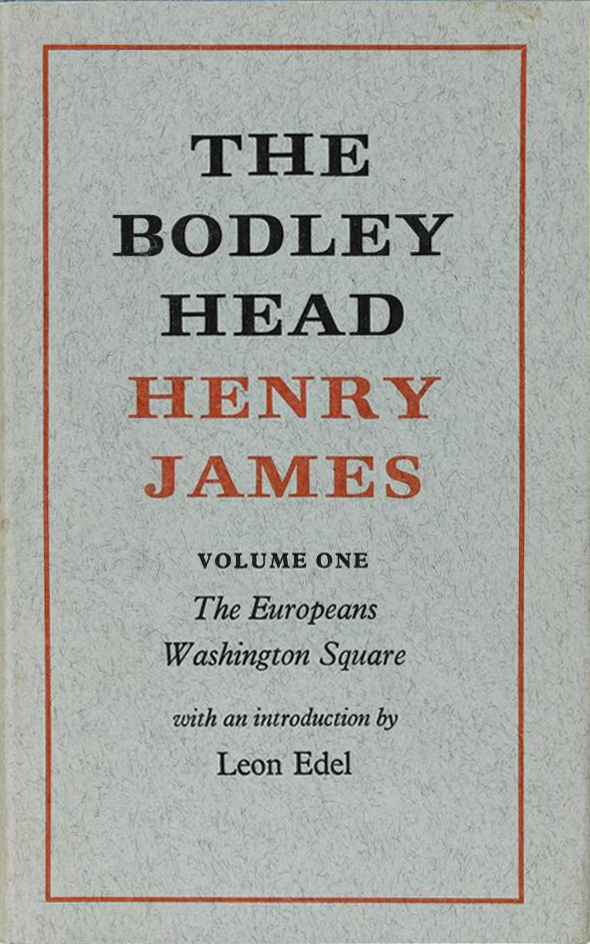 The Bodley Head Henry James (image)
