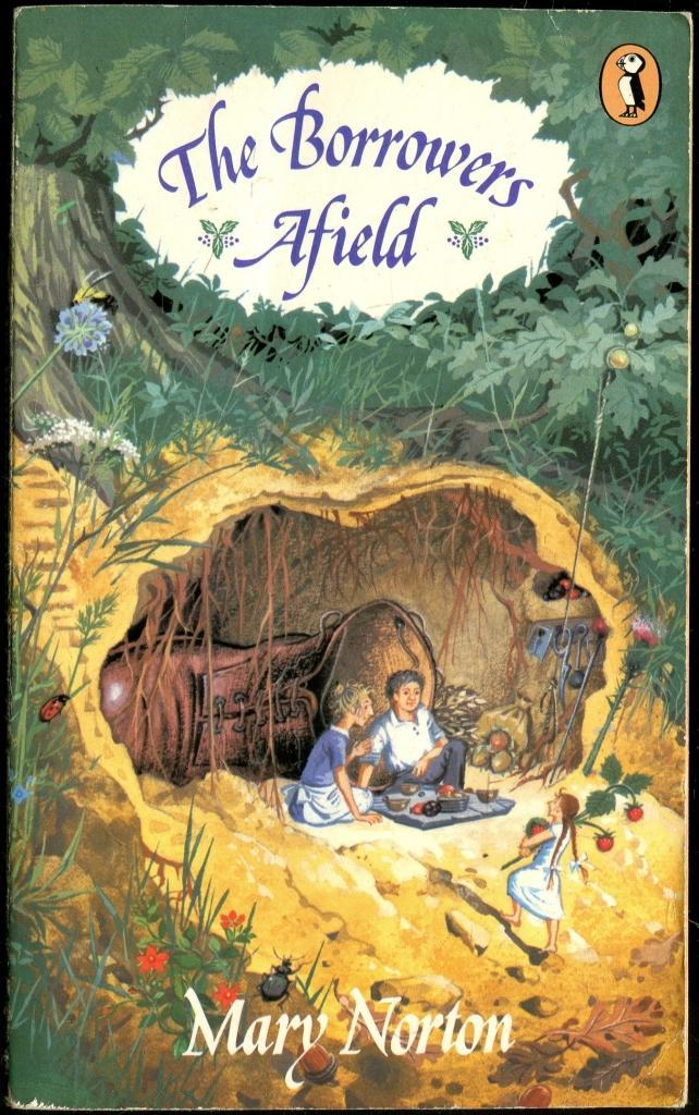 The Borrowers Afield by Mary Norton (image)
