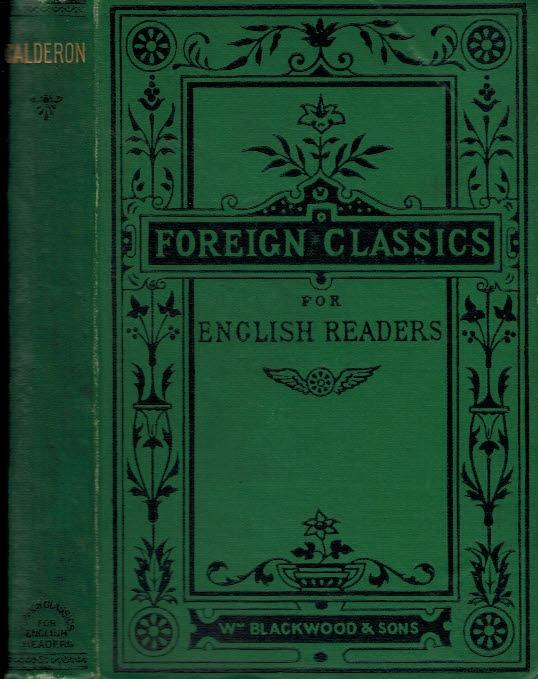 Calderon (Foreign Classics for English Readers/William Blackwood) (image)
