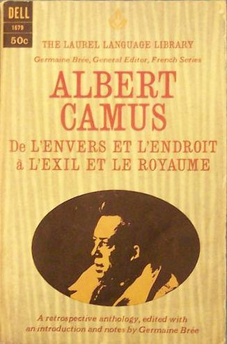 Camus, L'envers et l'endroit (Laurel Language Library) (image)