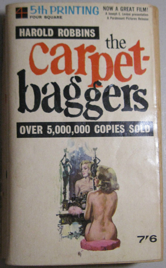 The Carpetbaggers - Robbins (New English Library, 1964) (front cover) (image)