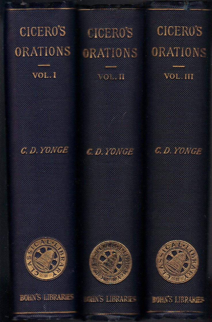 Cicero published in Bohn's Classical Library (image)