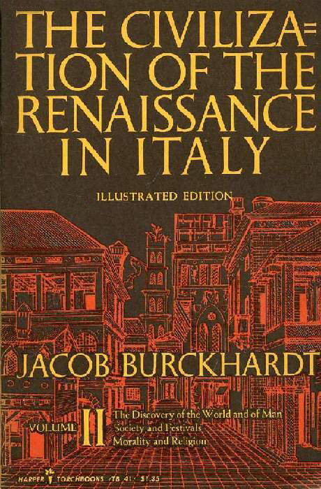 The Civilization of the Renaissance in Italy - Burkhardt (Harper Torchbooks) (image)