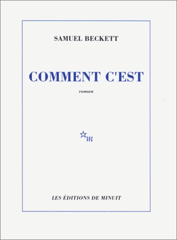 Comment C'est by Samuel Beckett (Editions de minuit, 1961) (image)