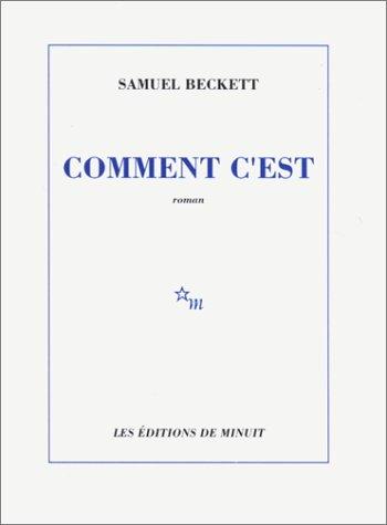 Comment C'est by Samuel Beckett (Editions de minuit, 1961) (image)