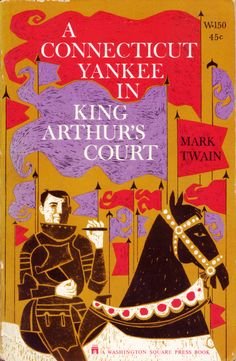 A Connecticut Yankee in King Arthur's Court - Twain (Washington Square Press) (image)