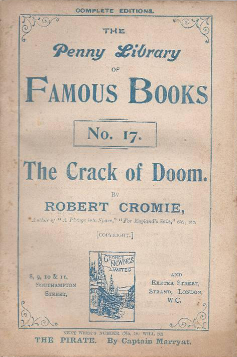 The Crack of Doom - Cromie (Penny Library of Famous Books/George Newnes) (image)