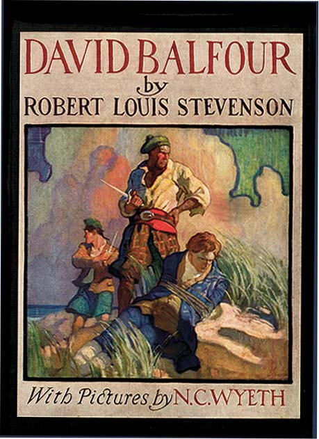David Balfour - Stevenson (Scribner Illustrated Classics for Younger Readers/Charles Scribner's Sons) (image)