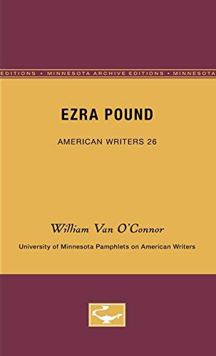 Ezra Pound (University of Minnesota Pamphlets on American Writers) (image)