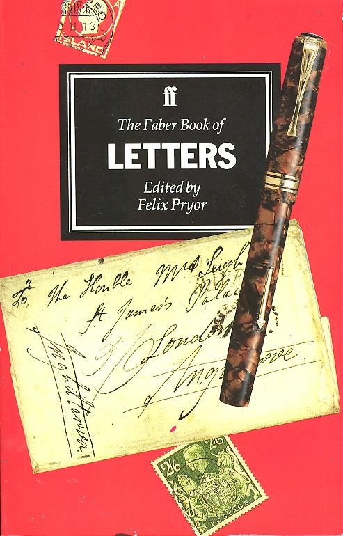 The Faber Book of Letters (image)