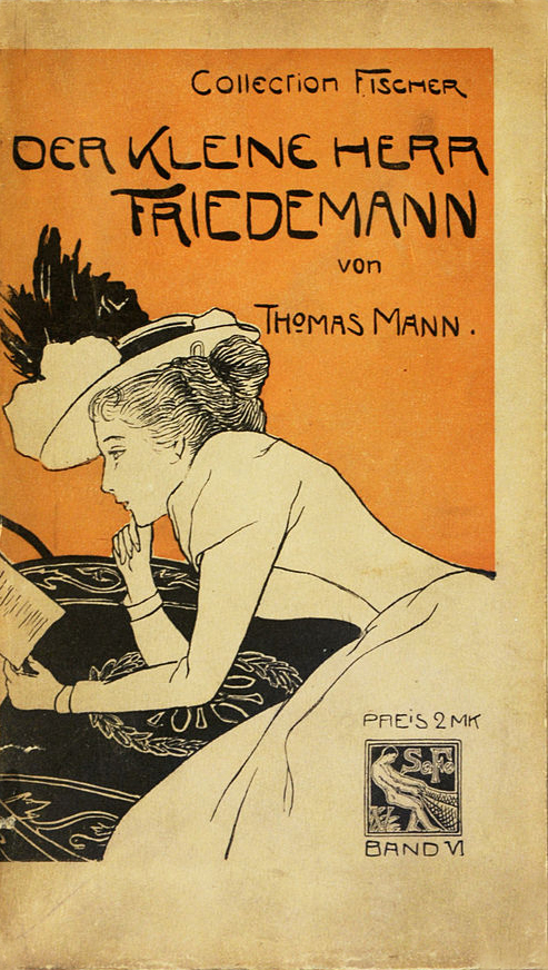 Der kleine Herr Friedemann - Thomas Mann (Collection Fischer) (image)