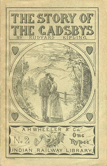 The Story of the Gadsbys - R. Kipling (A. H. Wheeler/Indian Railway Library) (image)
