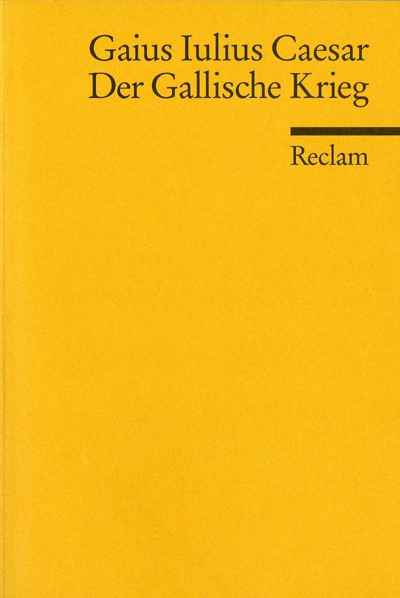 Gallischer Krieg (Caesar) (Reclams Universal-Bibliothek) (image)