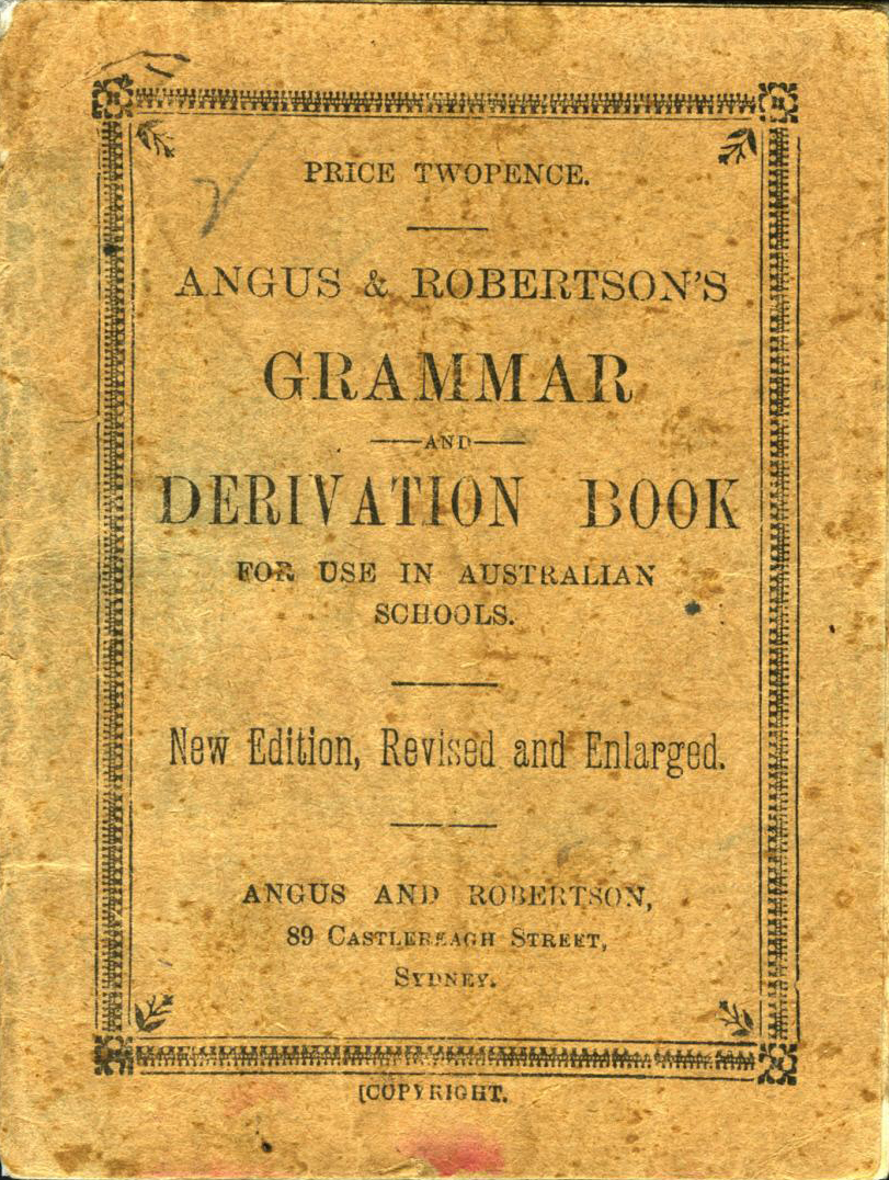 Grammar and Derivation (A&R's School Series) (image)