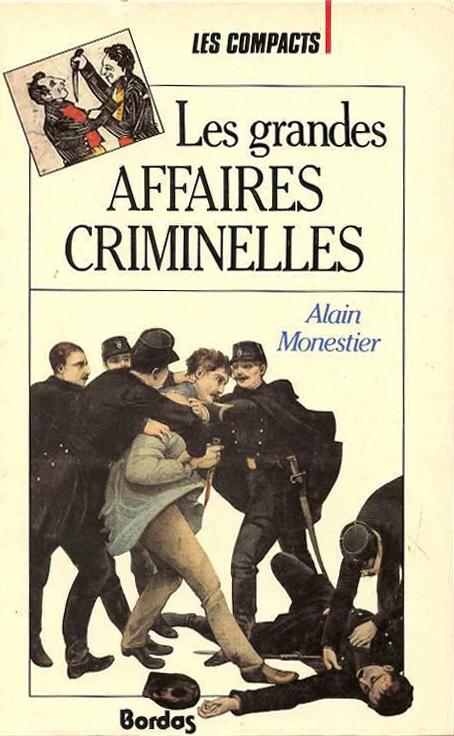 Les grandes affaires criminelles (Les Compacts) (Bordas) (image)