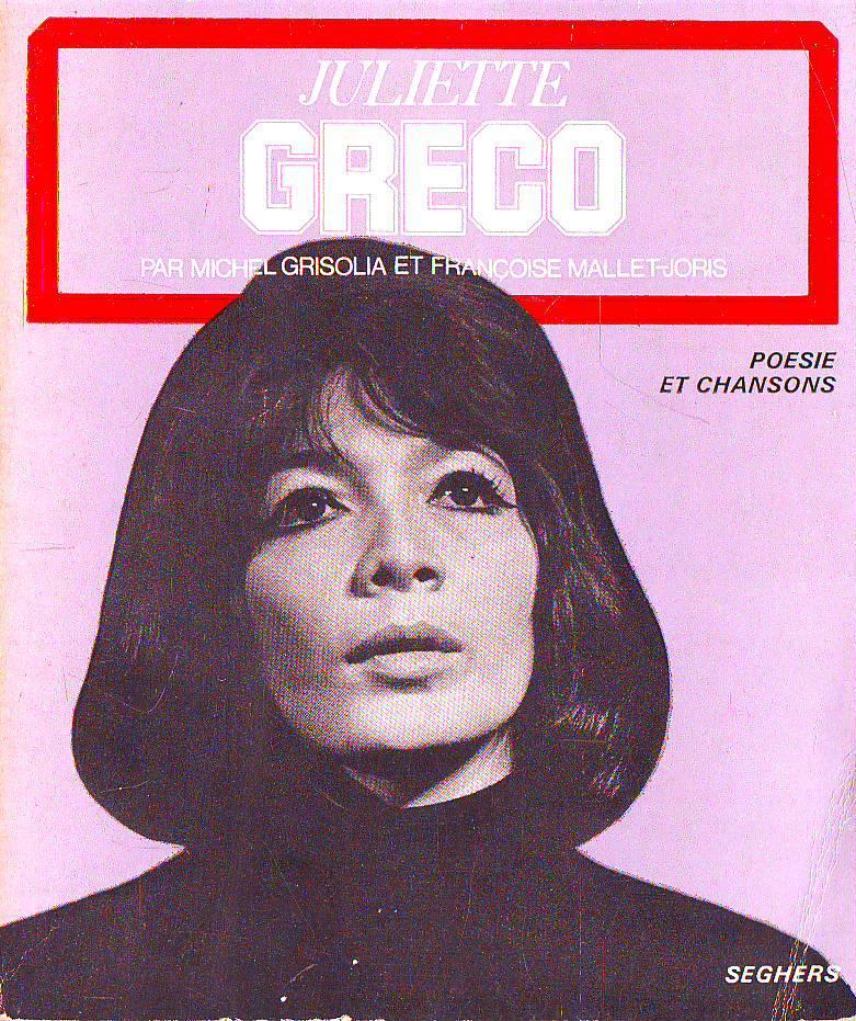 Juliette Greco (Poesie et Chansons) (Seghers) (image)