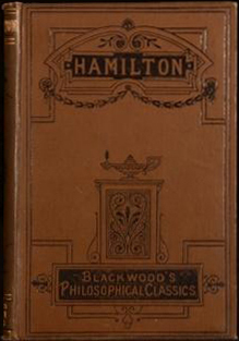 Hamilton (Philosophical Classics for English Readers/Blackwood) (image)