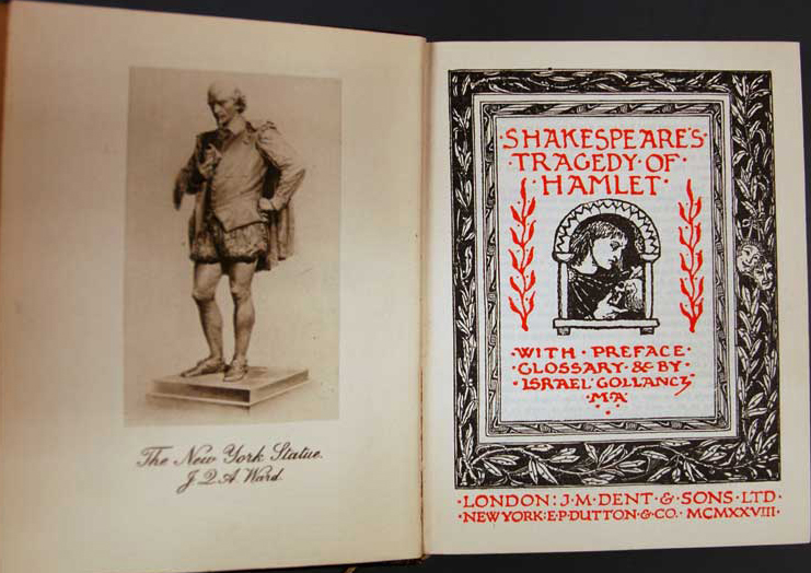 Hamlet (The Temple Shakespeare) (image)