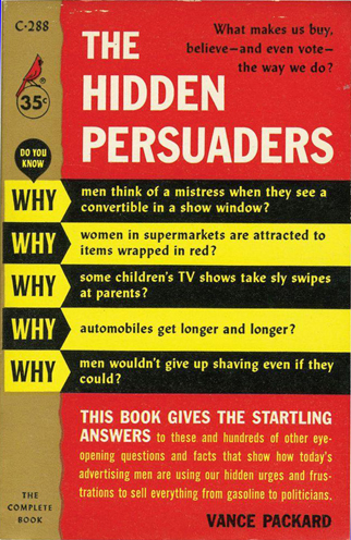 The Hidden Persuaders - Packard (Pocket Books/Cardinal Editions) (image)
