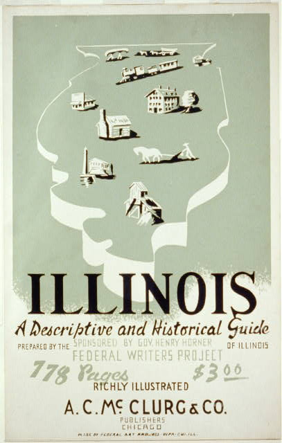 Illinois (WPA Guide/American Guide Series) poster (image)