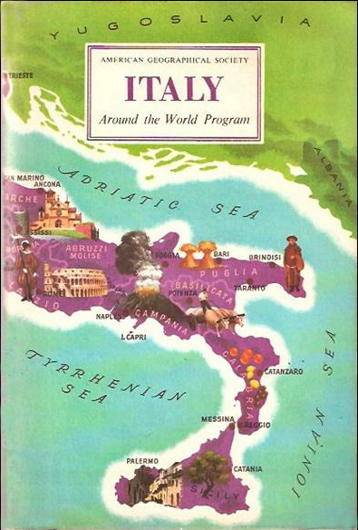 Italy (Around the World Program) (American Geographical Society/Doubleday) (image)