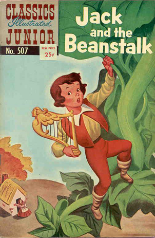 Jack and the Beanstalk (Classics Illustrated Junior, No. 507) (image)
