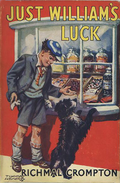 Just William's Luck (by Richmal Crompton) (G. Newnes, 1948) (image)