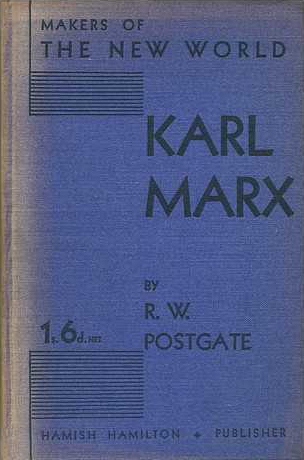 Karl Marx - Postgate (Makers of the Modern World/Hamish Hamilton) (image)