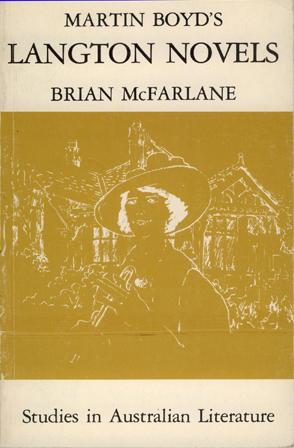 Martin Boyd's Langton Novels - Brian McFarlane (Edward Arnold (Aust.) (image)