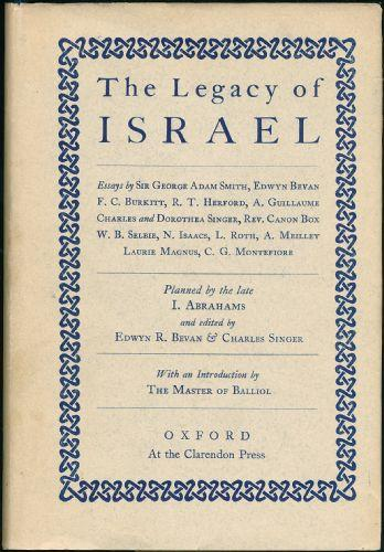 The Legacy of Israel (OUP, 1944) (image)