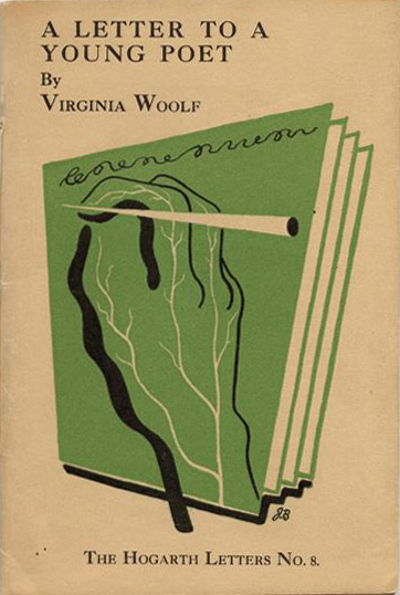 A Letter to a Young Poet (V. Woolf) (Hogarth Letters/Hogarth Press) (image)
