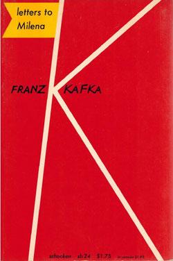 Latters to Milena - Kafka (Schocken Paperbacks) (image)