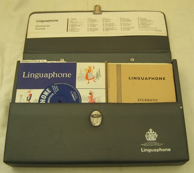 Linguaphone German course (late 1960s) (image)