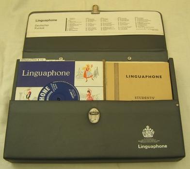 Linguaphone German course (late 1960s) (image)