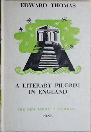 Literary Pilgrim in England - Thomas (New Library/Cape) (image)