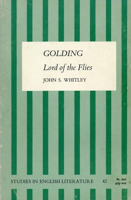 Golding: Lord of the Flies (Studies in English Literature) (E. Arnold) (image)