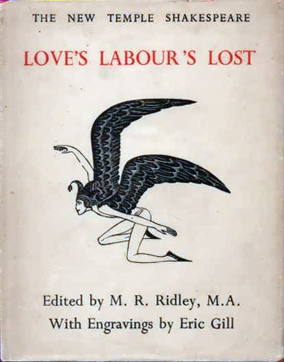 Love's Labour Lost (Dent/New Temple Shakespeare) (image)