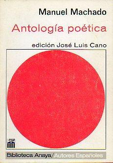 Antologia poetica - Machado (Bibliotheca Anaya) (image)