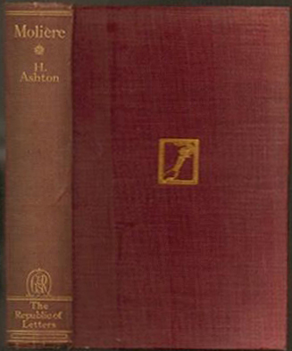 Moliere (The Republic of Letters/Routledge) (image)
