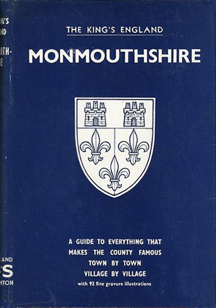 Monmouthshire (The King's England) (Hodder & Stougton, 1957) - front (image)