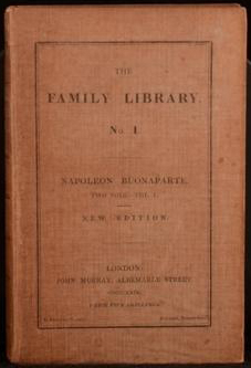 Napoleon Buonaparte (Murray's Family Library) (image)