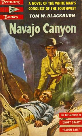 Navajo Canyon - Blackburn (Pennant Books/Bantam) (image)