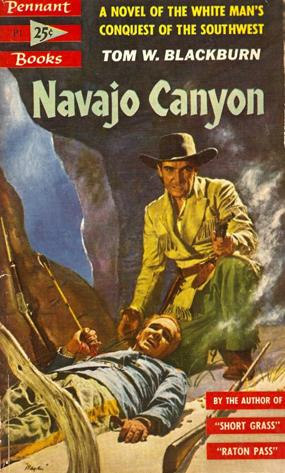 Navajo Canyon - Blackburn (Pennant Books/Bantam) (image)