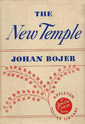 The New Temple - Johan Bojar (Appleton Dollar Library) (image)