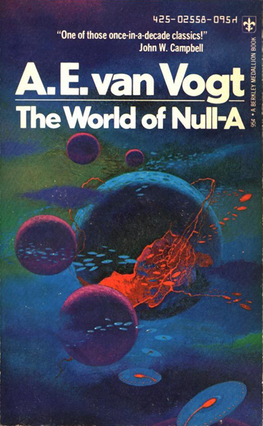 The World of Null-A - Van Vogt (Berkley Books) (image)